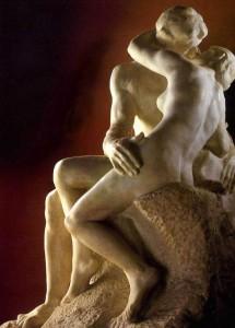 De kus, Auguste Rodin (1886)